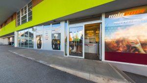Außenansicht / Fassade des Friseursalons Hairport in Oberndorf